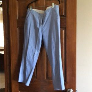 Like new chambray Capri pants